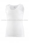 2306-Camiseta Tirante Ancho Primera Calidad - Camiseta par ni�a en algod�n, tirante sport. Este art�culo da poca talla, pedir uana talla m�s de la habitual.