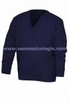 Jersey Cuello Pico Azul Marino