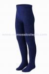Leotardo liso - Color Azul Marino - Leotardo liso de algod�n. Excelente calidad: no hace bolas. Con el�stico en la cintura para que no apriete. M�s de 5 colores a elegir. Se recomienda lavar del rev�s.