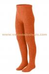 Leotardo Colegial Naranja - Leotardo de algod�n primera calidad. Color n�spero tipo gredos. No hace bolas. Fabricaci�n nacional.