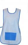 Casulla azul a rayas - Casullas para profesores. Talla �nica. Tejido y composici�n a elegir. �Consulte nuestros precios para colegios y guarder�as!
