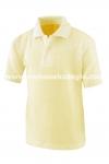 Polo Manga Corta Amarillo