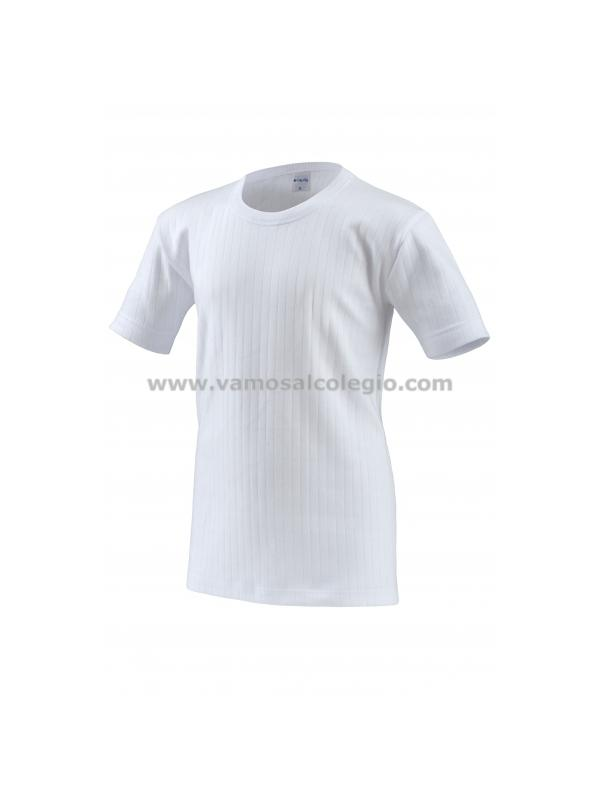 Camiseta Felpa Manga Corta - Camiseta de felpa TÉRMICA. 100% algodón de primera calidad. Fabricación Nacional. Pinchar en la imagen para ver detalle