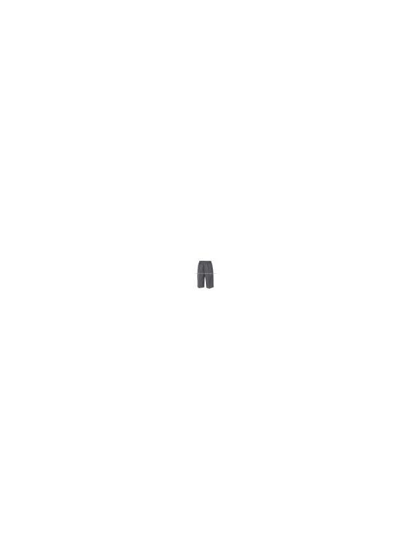 PANTALÓN CORTO. Cinturilla con botón y cremallera. GRIS MARENGO. - Pantalón corto colegial en 100% poliéster. ¡Desde la talla 8 hasta la 20!. Color Gris marengo. Producto nacional de primera calidad. NO PICA, plancha fácil. Cinturilla con botón y cremallera. Ver detalles más abajo para saber las medidas