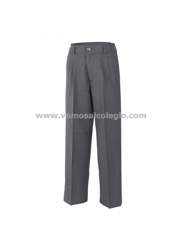 Pantalón Colegio de Lana GRIS MARENGO - ¡¡ÚLTIMAS UNIDADES!! Pantalón de colegio con composición 45% Lana. Color gris marengo . Tejidos de primera calidad. Ver detalles del producto pinchando las fotos del zoom. ¡¡ Planchado fácil !!