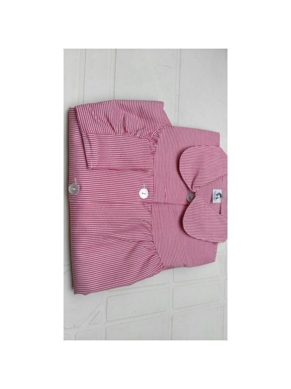 BABY RAYA ROJA ¡¡OFERTA!! - Baby RAYA en ROJA,¡¡ÚLTIMAS UNIDADES!! composición 35% algodón 65% poliéster. Primera calidad. Dos bolsillos. Tallaje amplio.