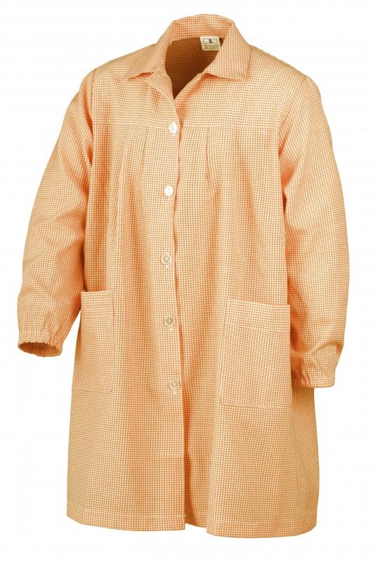 BABY cuadros naranjas ¡¡OFERTA!! - Baby CUADROS NARANJAS,¡¡ÚLTIMAS UNIDADES!! composición 50% algodón 50% poliéster. Primera calidad. Dos bolsillos.
