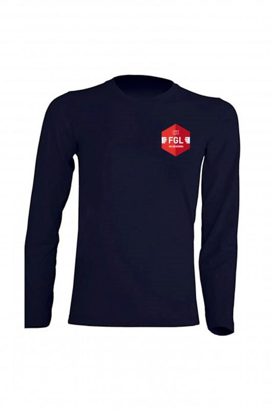CAMISETA MANGA LARGA CEBIP Federico García Lorca - Camiseta azul marino en algodón. Incluye escudo. Modelo oficial del colegio.