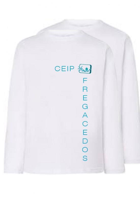 PACK 2 CAMISETAS M/Larga CEIP Fregacedos, Fuenlabrada. - Pack 2 camisetas m/larga deporte. Modelo oficial del CEIP Fregacedos, Fuenlabrada.