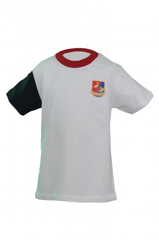 CAMISETA PRIMARIA EL CANTIZAL - Camiseta primaria algodón, modelo oficial del colegio.