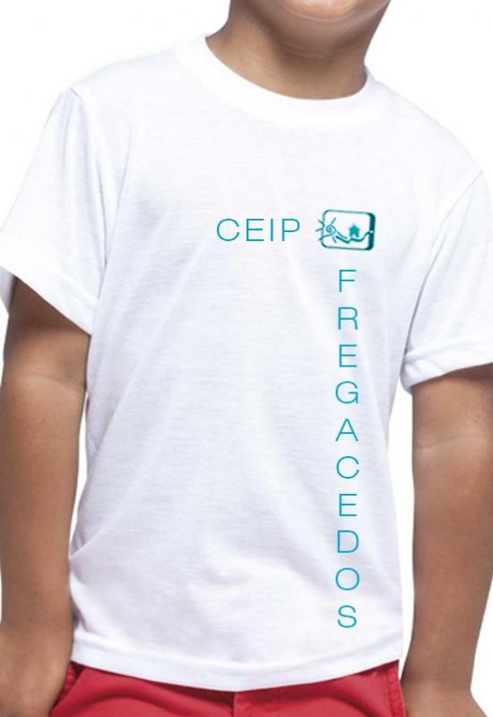 PACK 2 CAMISETAS CEIP Fregacedos, Fuenlabrada. - Pack 2 camisetas deporte. Modelo oficial del CEIP Fregacedos, Fuenlabrada.