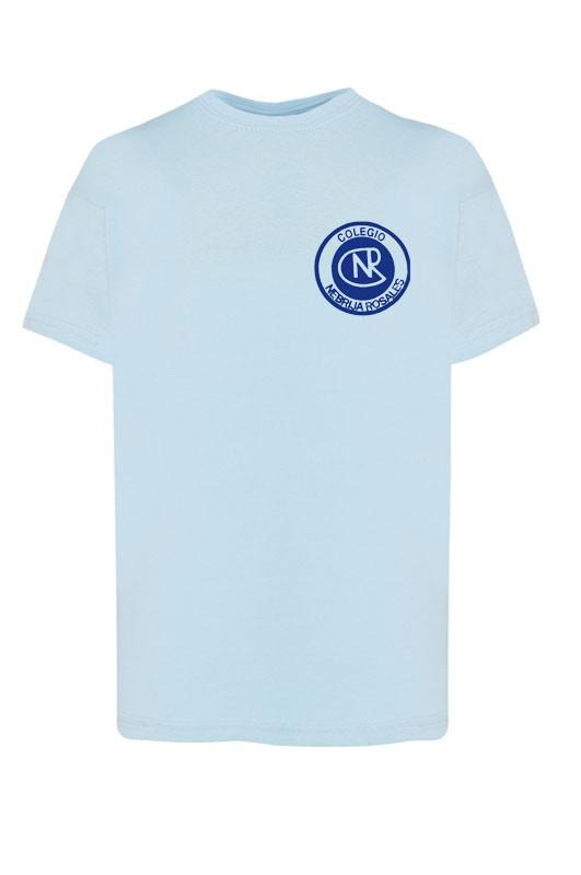 CAMISETA M/corta Nebrija Rosales, Madrid - Camiseta m/corta. Modelo oficial del colegio Nebrija Rosales, Madrid.