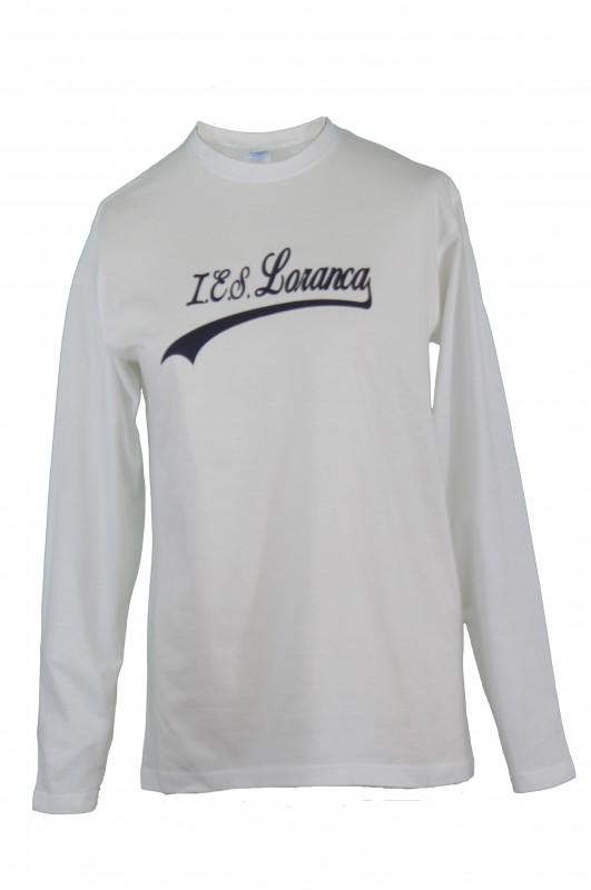 CAMISETA M/larga Instituto Loranca, Fuenlabrada - Camiseta manga larga,modelo oficial del colegio.