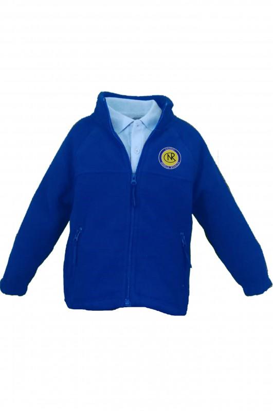 POLAR Nebrija Rosales, Madrid - Forro polar con el escudo del colegio bordado. Concebido como abrigo o sustituto de la chaqueta. Da bastante talla. Consulte más abajo los detalles y medidas.