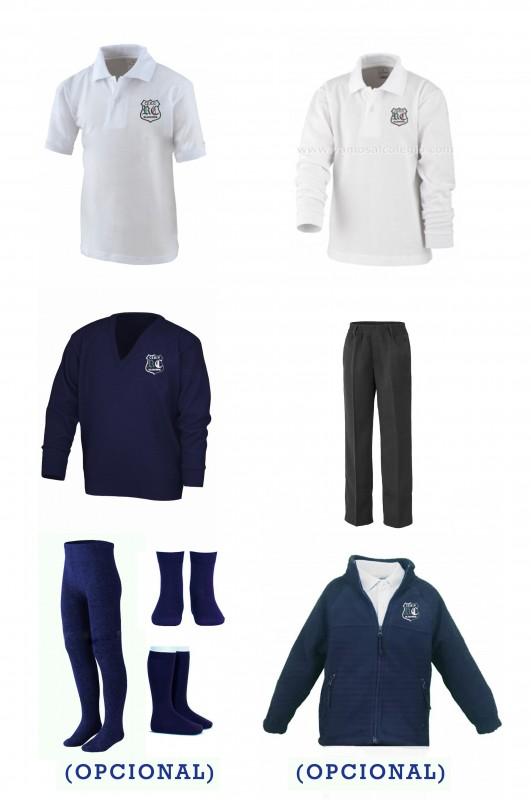 LOTE  VESTIR CON PANTALÓN TODO GOMAS  RdC - Contenido: Pantalón todo gomas + jersey + polo m/c + polo m/l. Elige tus tallas. Puedes añadir como opcional  pack de calcetines y/o polar.