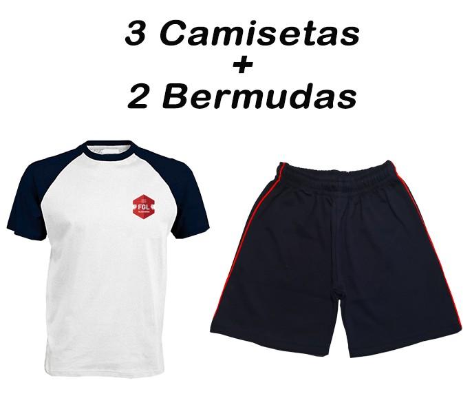 10-LOTE VERANO/2 F.G.L. - 5 PRENDAS