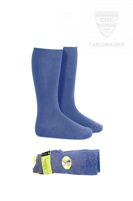 Media colegial lisa, Color Azul Francia, PACK DE 2 PARES - PACK DE 2 PARES de Media sport lisa. Composición 80% Algodón.  No hacen bolas. Se recomienda lavar del revés.  ¡¡ CADA PAR TE SALE A 1 €!!