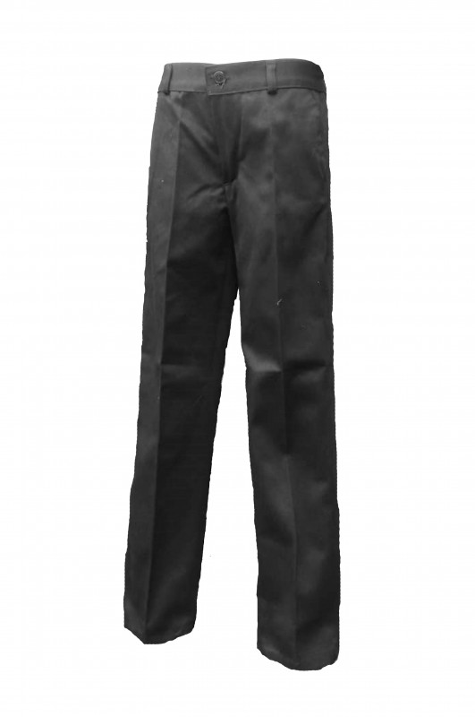 PANTALÓN DE VESTIR CON BOTÓN PADRE GARRALDA - Pantalón de vestir largo, cinturilla con botón, modelo  oficial del colegio.