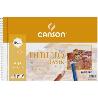 BLOC DE DIBUJO BASIK GUARRO A4+  - Bloc de 20 hojas