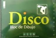 BLOC DE DIBUJO ESCOLAR DISCO - Bloc de 10 hojas