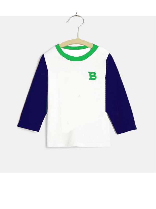Camiseta m/larga blanca - Camiseta m/larga blanca de primera calidad. El color del cuello y de las mangas son personalizables. Pedido mínimo a 6 por talla. Este producto se fabrica solo por encargo. Si está interesado por favor pida más información.