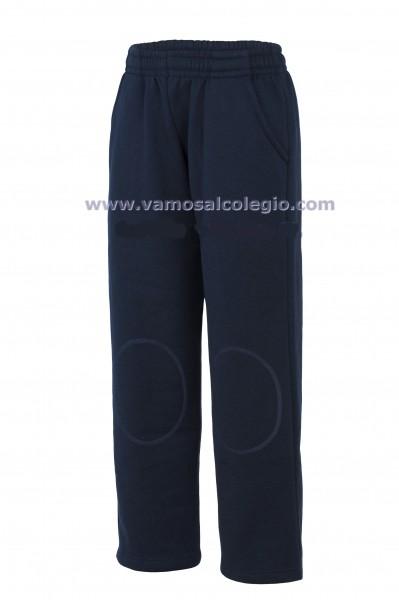 Pantalón Largo Deportivo Rodilleras - Pantalón largo de chandal, reforzado con rodilleras. Composición 50% algodón. Fabricado en felpa de primera caliad.