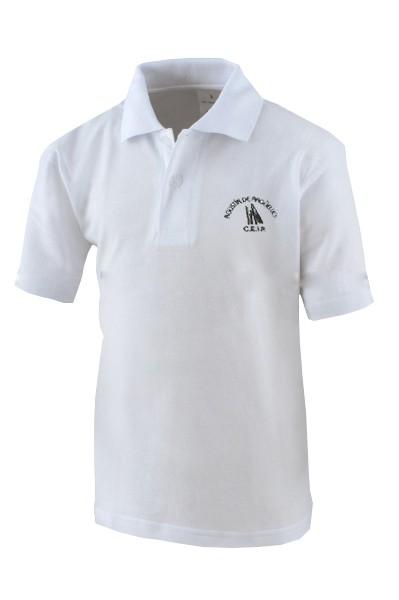POLO MANGA CORTA AA - Polo manga corta, modelo oficial del colegio.